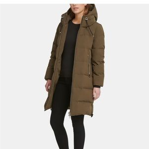 Puffer coat from DKNY